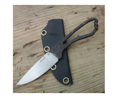 "Ben Seward Custom Forged Fixed Blade Knife (3.75"" Satin)"
