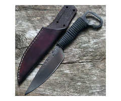 Matthew Parkinson Custom Fixed Blade Knife Bottle Opener