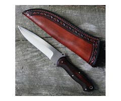 Joe Szilaski Custom Cocobolo Hunter Knife