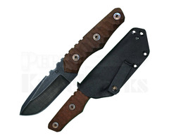 "Wander Tactical Scrambler EDC Fixed Blade Knife (3.5"" Raw)"