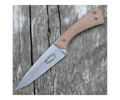 "Steve Kelly Bug Out Fixed Blade Knife Tan G10 (3.0"" Stonewash)"