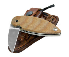 "Condor Tool & Knife Primitive Outback Bush Folder Knife (2.2"" Polish)"
