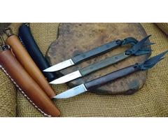 """Hiroaki Ohta OFB SS 50 Fixed Blade Knife (2.0"""" Satin)"""