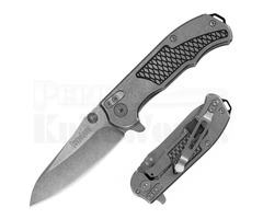 "Kershaw Hinderer Agile Assisted Opening Knife (2.7"" Stonewash) 1558"