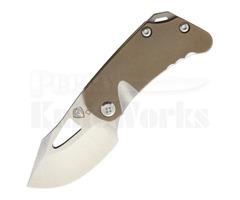 "Medford Knife & Tool Eris Framelock Knife Bronze (2.0"" Stonewash)"