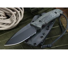 "Attleboro Knives ""The Attleboro"" Fixed Blade Knife"